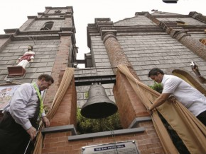 400-year old church bell returns back home to La Union