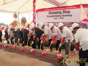 Mitsubishi Motors Philippines breaks ground for Press Shop