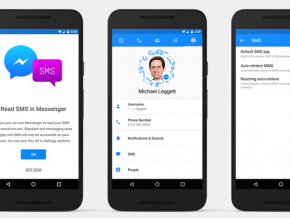 Facebook Messenger for Android can now send SMS