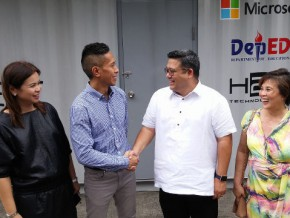 DepED and Microsoft, in a team to hatch the EGG