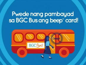It's now official: beep card can now be used on ALL BGC Bus routes