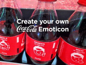Share the Feeling today with COCA-COLA Emoticons!
