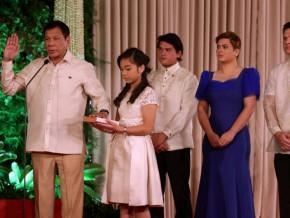 Rodrigo Duterte: Philippines' 16th President Inauguration