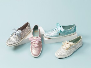 Wedding Shoes Redefined: Keds x kate spade new york Champion Glitter Sneakers