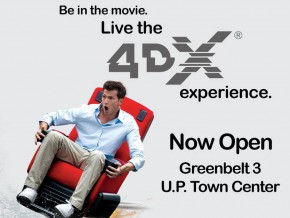 4DX cinemas now open at UP Town Center and Greenbelt 3