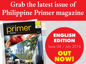 The July Issue of Philippine Primer is Now Available!