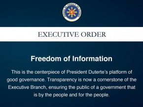 Freedom of Information: Why is this is a big deal to Filipinos?