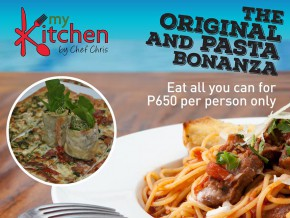 Pizza lovers, attack! MyKitchen offers unli pasta and panizza