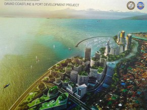 Mega Harbor port Project, set to be implemented in Davao City
