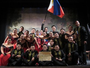 PH Madrigal Singers win the grand prize at a choral competition in Italy