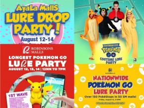 To do this weekend: Pokémon Go Lure Parties in Manila