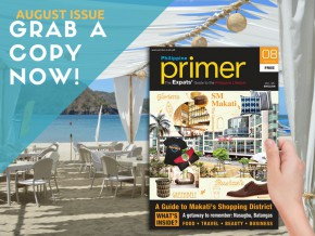 Out Now! Primer Magazine August issue