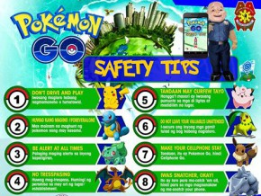 The police are your friends! 8 Pokémon Go safety tips from the PNP