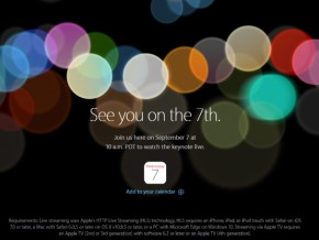 Apple teases iPhone 7 release with special event