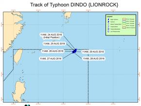 #DindoPH: Typhoon enters PAR but will not make landfall