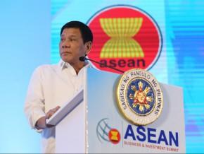 Philippine President Rodrigo Duterte accepts ASEAN chairmanship