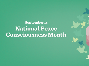 September is National Peace Consciousness Month