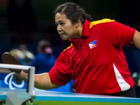 Filipina wins bronze medal in table tennis at Rio Paralympics