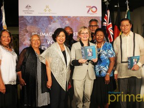 Australian Embassy and CCP Open Exhibit and Book Launch for Indigenous People's Month