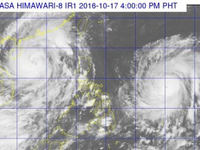 TY Karen exits as TY Lawin enters PAR; may reach supertyphoon status