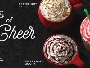 Starbucks introduces its newest holiday beverage