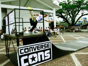 CONVERSE CONS PROJECT ROLLS IN BALER
