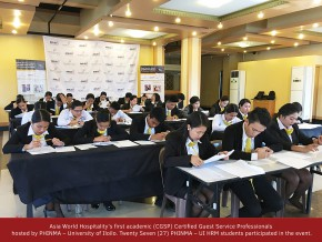 Asia World Hospitality moves to Iloilo; convenes first hospitality CGSP workshop for HRM students