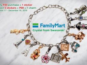 FamilyMart extends Crystal Charm Promo until Dec. 16
