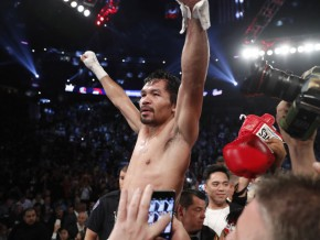 Manny Pacquiao is the new WBO Welterweight Champion