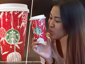 Filipina's artwork featured on Starbucks' holiday cups