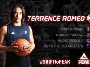 Terrence Romeo, first Filipino to score PEAK endorsement