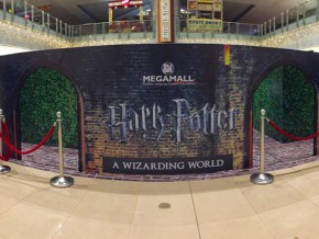 Explore the Wizarding World of Harry Potter at SM Megamall