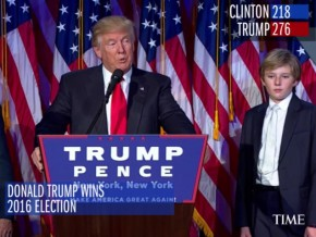 Donald Trump is new POTUS