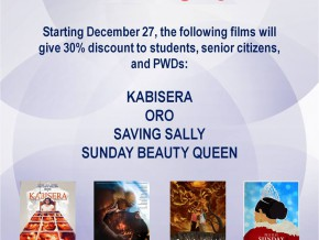 MMFF to offer 30% discount to students, PWDs, and senior citizens