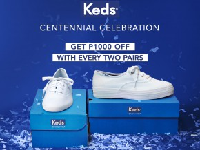 Sale Alert: Get Dibs On Your Fave Sneakers  at Keds 3-Day Sale!