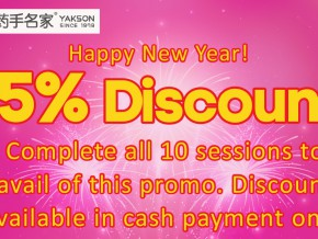 15% discount awaits you at Yakson House in Manila