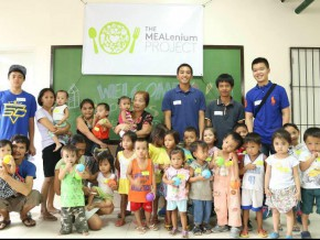 Millennials help kids in Payatas through feeding program