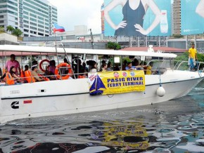 i-ACT relaunches 'Enhanced Pasig River Ferry' with free shuttle service