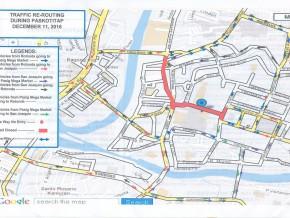 Pasig roads closed on Dec. 11 for 'Paskotitap 2016'