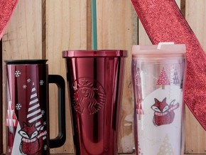 Starbucks Christmas-themed tumblers are on 20% off until Dec. 25!