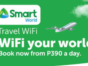 Stay connected wherever you are as Smart offers World Travel WiFi