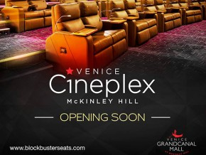 VIP Cinema at Venice Cineplex opens this December 3
