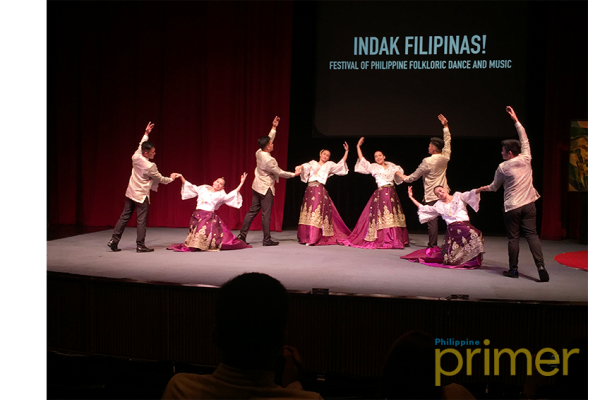 A sneak peak of one of the performances to watch during Indak Filipinas.