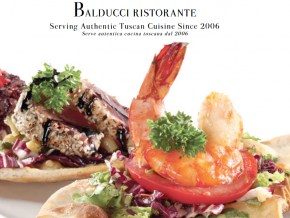 Balducci Ristorante is under renovation
