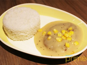 Jollibee introduces their newest flavorful dish-– the Pepper Cream Burger Steak
