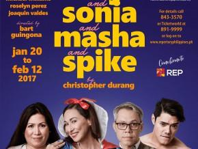 Cherie Gil headlines REP's 2017 season opener 'Vanya and Sonia and Masha and Spike'