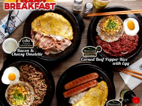 Pepper Lunch All day Breakfast Promo
