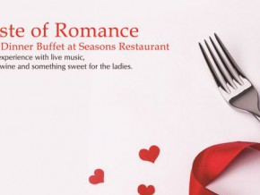 Have a Taste of Romance at Manila Pavilion Hotel