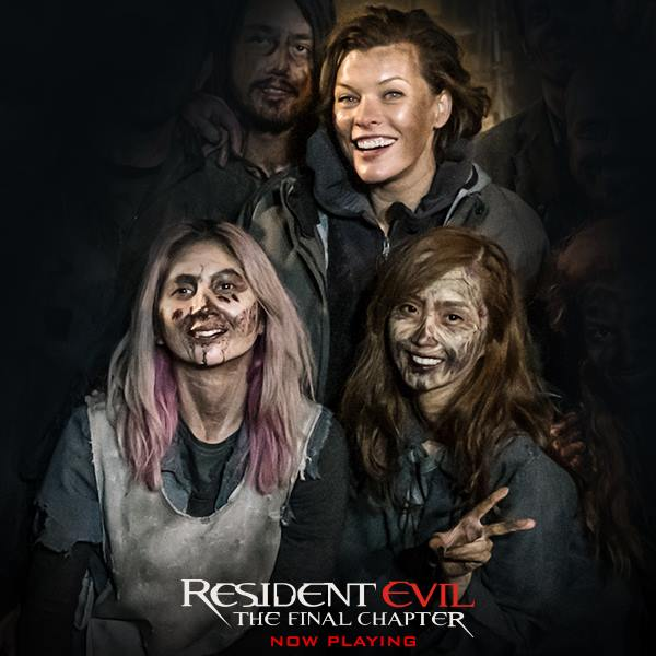 Filipina Cosplayers Among The Cast Of Resident Evil The Final