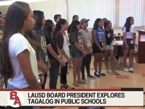 LA high schools might have Filipino classes by fall of 2017